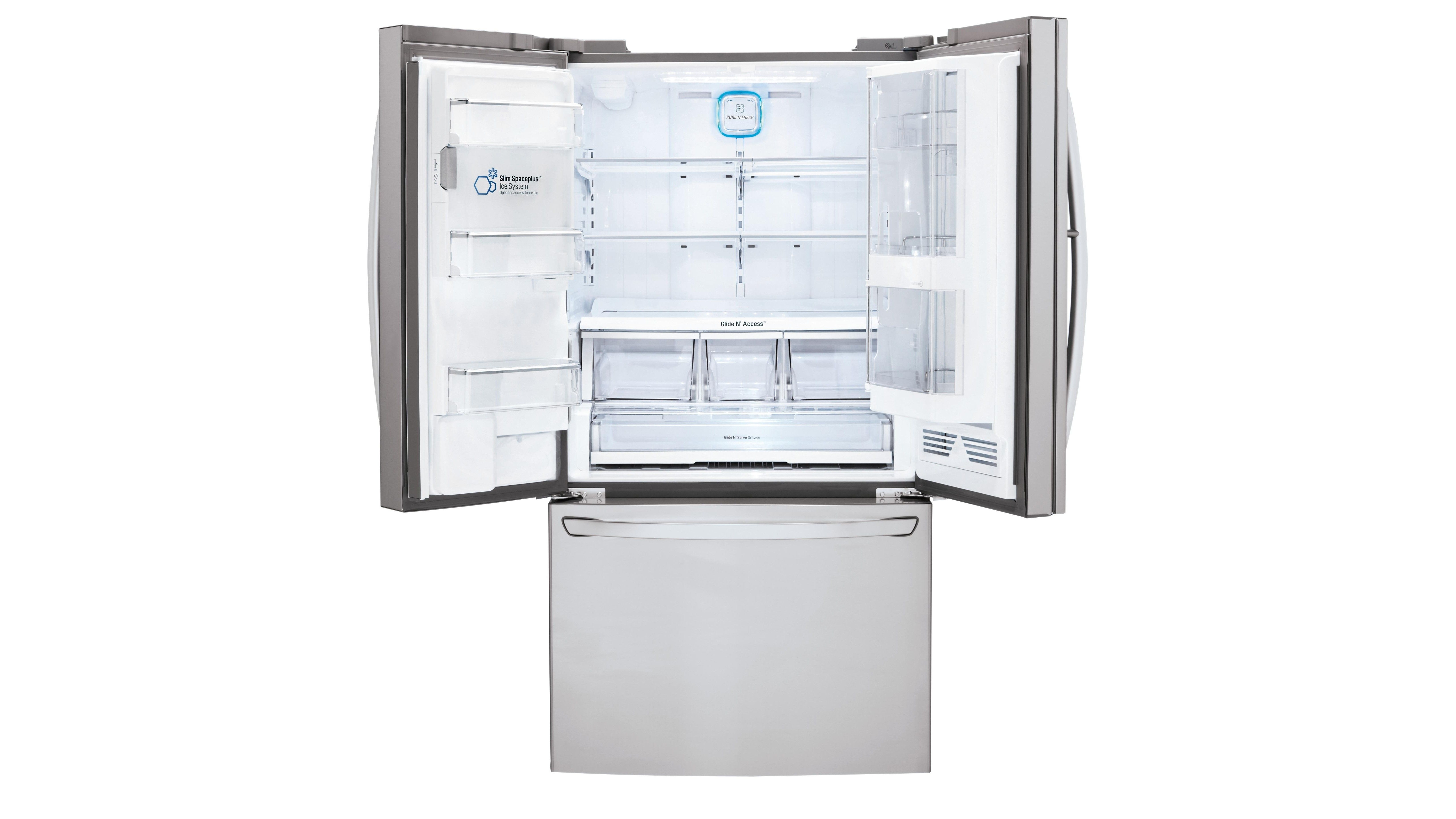 LG 730L French Door Fridge with Slim Ice Maker - Stainless