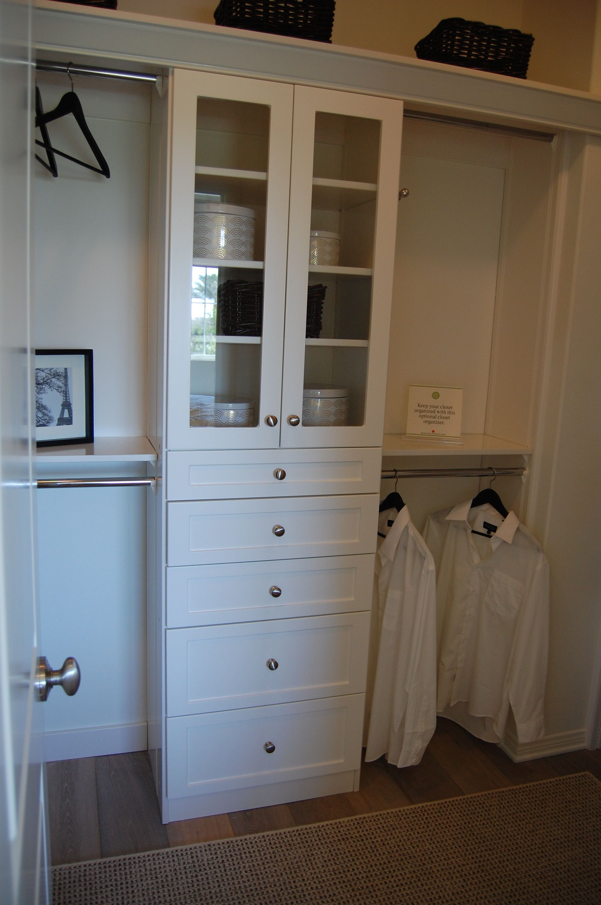 Optional Master Closet Organizer