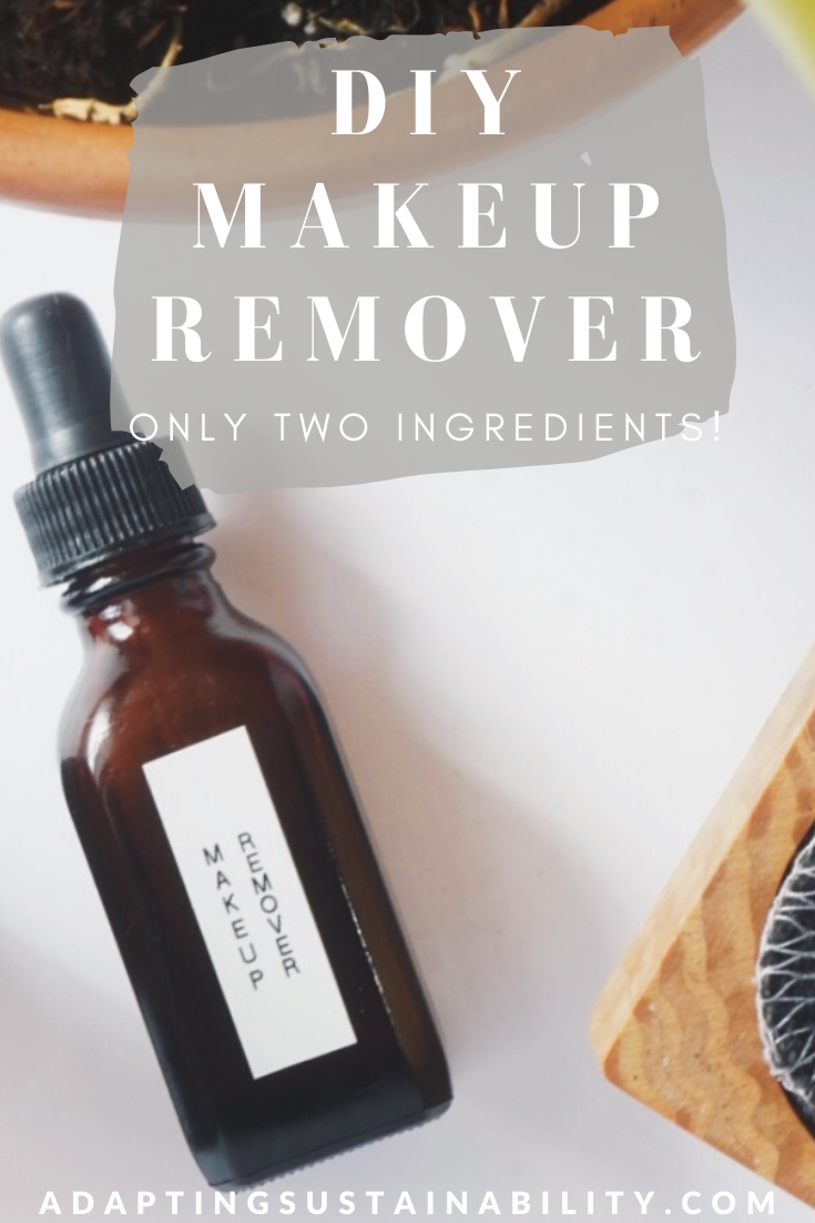 DIY Makeup Remover in 2020 Diy makeup remover, Makeup
