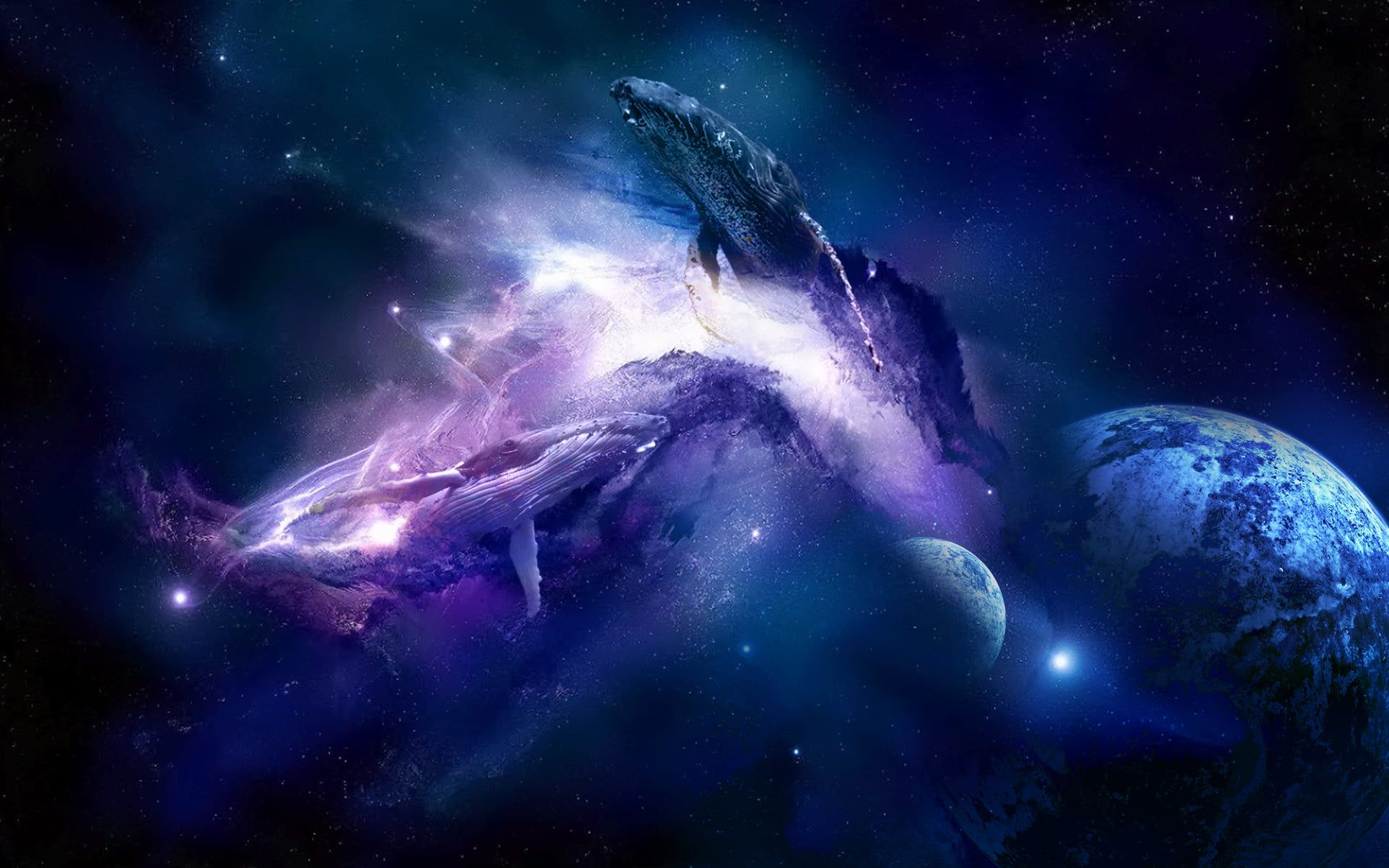 Space Whale 1080p Wallpaper Hdwallpaper Desktop In 2020 Space Desktop Backgrounds Space Iphone Wallpaper Space Whale