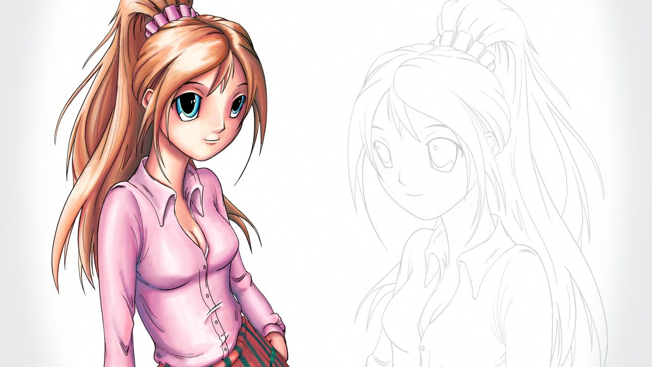 Creating Copic Marker Illustrations In Sketchbook Pro Http Www