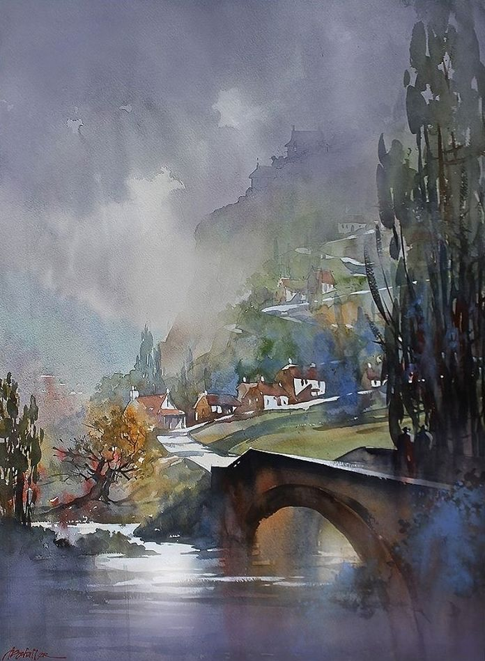Thomas W Schaller On Art Watercolor Art Art Thomas