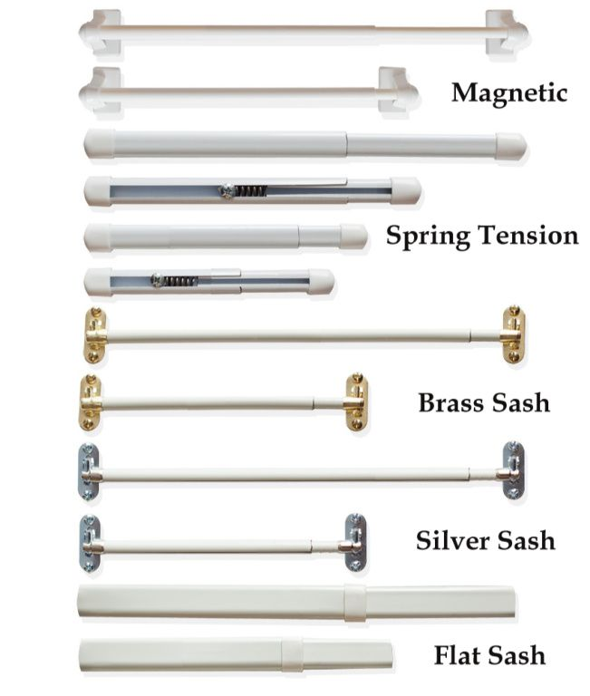 Best Types Of Curtain Rods Sidelight Curtains Window Coverings