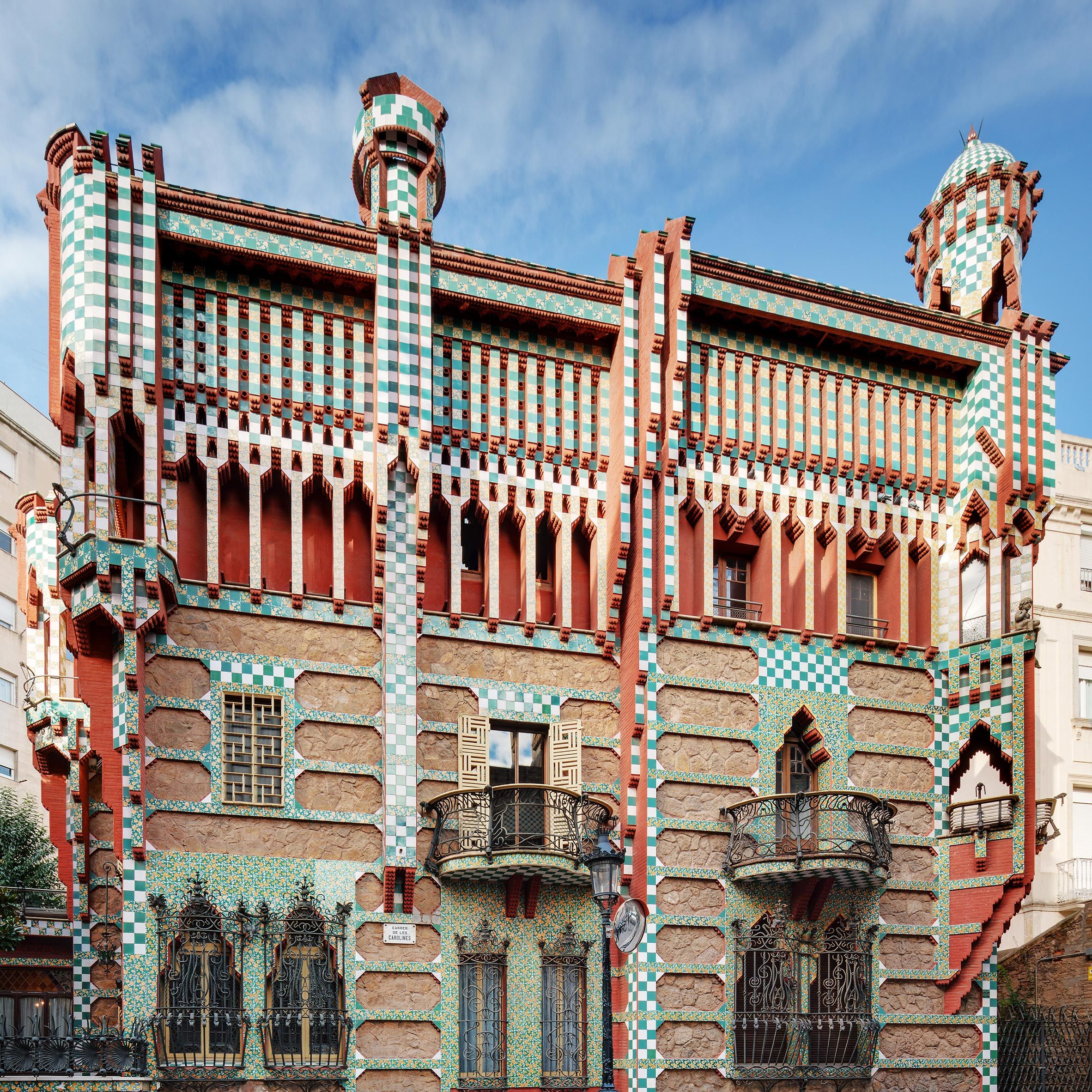 The First House Completed By Spanish Architect Antoni Gaudi Casa Vicens Will Open To