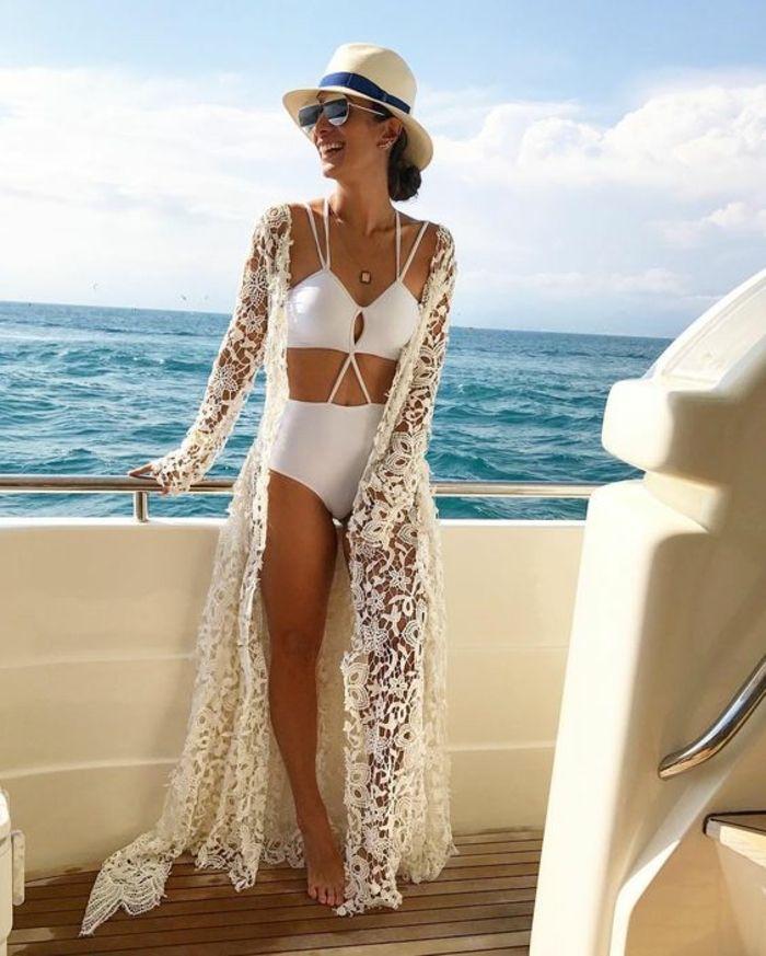 ▷ 1001 + Ideen für faszinierende Beach Outfits für Frauen, Männer und Kinder