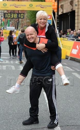 Denise Welch With Her Husband Lincoln Towney