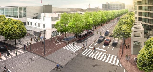 West 8 Urban Design & Landscape Architecture / projects / Queens Quay Boulevard