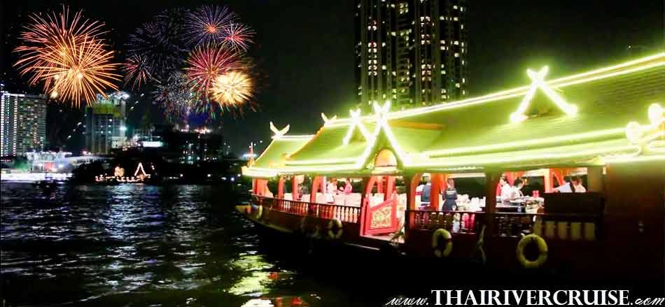 Wankaew Cruise New Year's Eve BANGKOK Dinner Cruise On