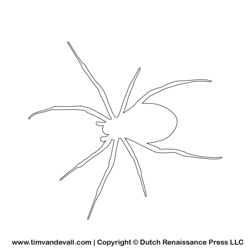 Free Spider Silhouette Stencils And Outlines Silhouette Stencil Line Art Drawings Outline