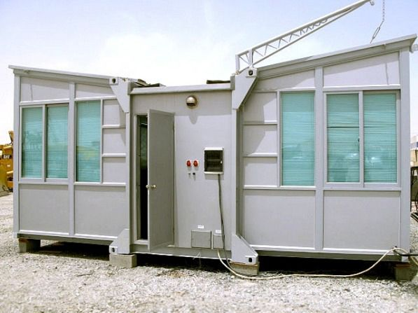 Introducing The Wing House Expanding Shipping Container Home A Versatile Mobile And Efficient