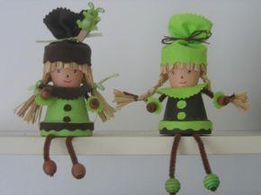 Choco et anisette – Création Personnage en pot de isabelle 53 n°25645 (Vue 6390 fois)
