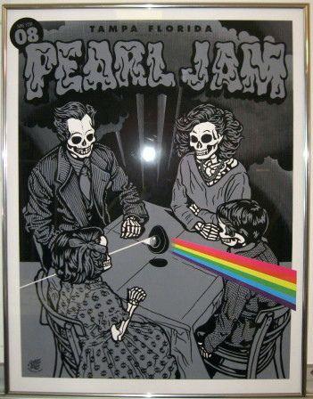 Pearl Jam Poster Framed In 2018 Rock On Pinterest Pearl Jam