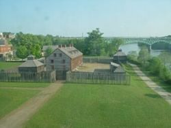 Old fort western augusta maine is new england 39 s oldest for Old wooden forts