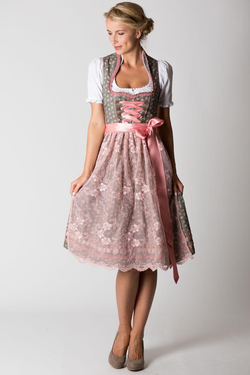 Farbbberatung Stilberatung Farbenreich Mit Www Farben Reich Com Midi Dirndl Henriette Grun Rosa Dirndl Dress Fashion Dirndl