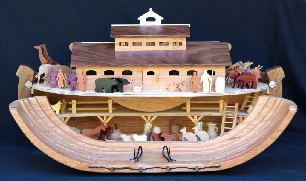 Noah S Ark Woodworking Pan With Dozens Of Patterns For Building