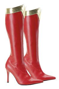 8256deb0310 Details about Supergirl 2 Shoes Superman Clark Kent Cosplay Boots ...