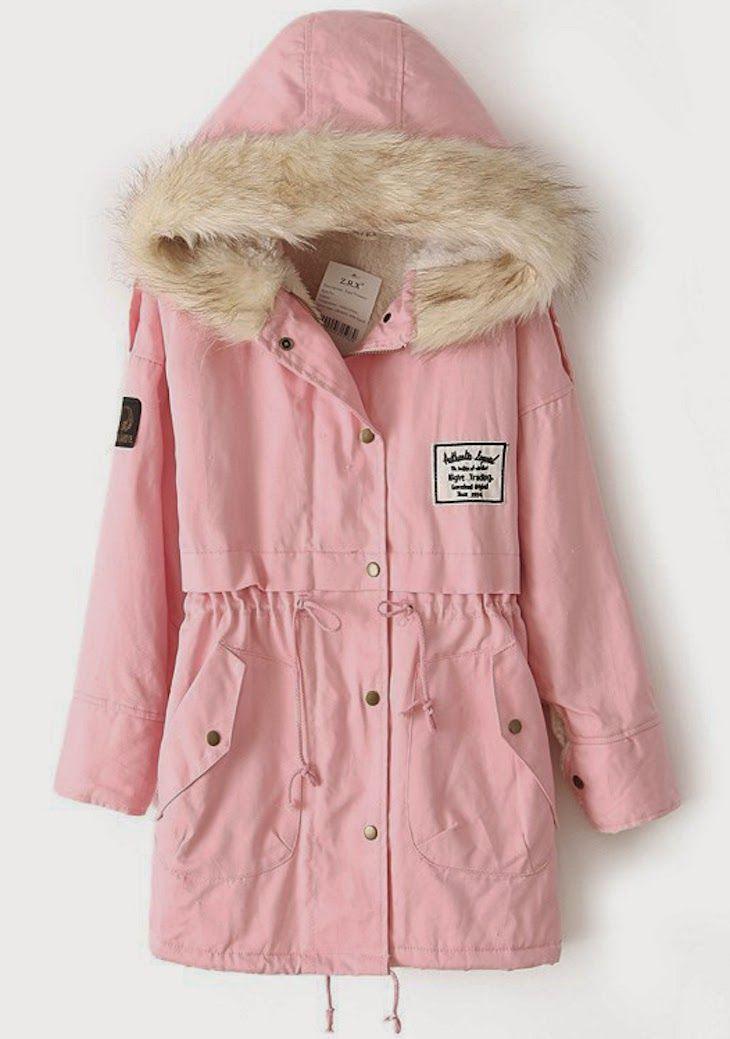 #parka #fashion #pastel #mint #shopping #sheinside #sales #fashionlogger #fashionblog #pink #military