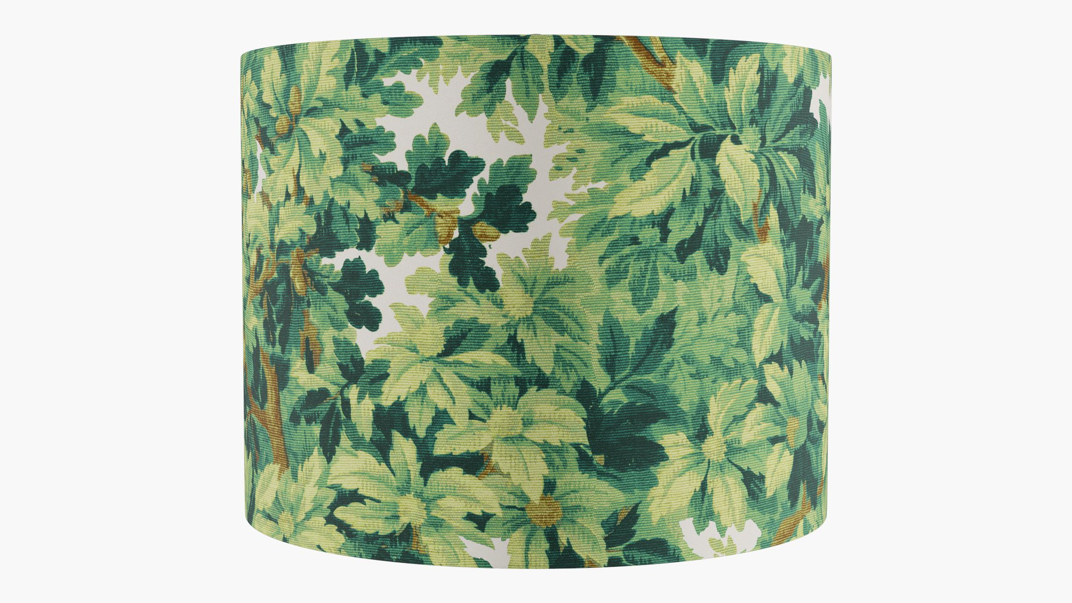 Our printed canvas lampshades are sure to bring a joyful pop into any space.