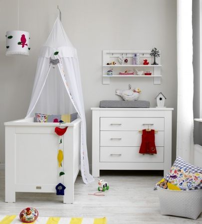 ledikant 60-120 / commode 3 laden new basic | coming kids | baby, Deco ideeën
