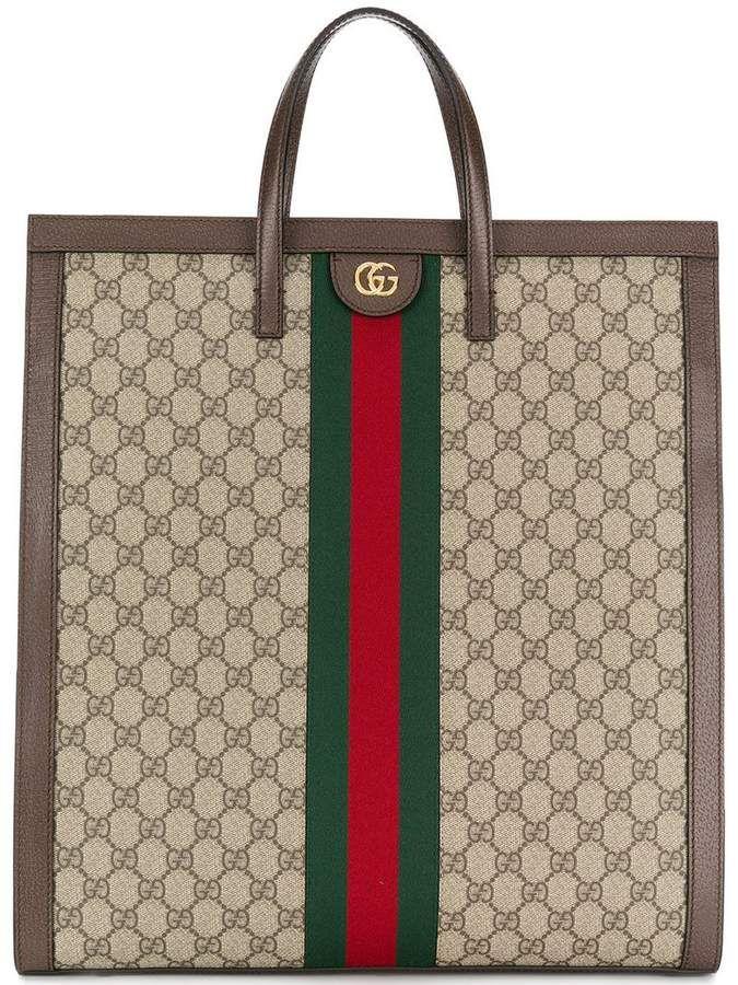 dd26556dd8f9 Gucci Ophidia GG Supreme Tote | Products | Bags, Gucci, Gucci ...