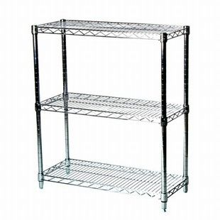 Wire Shelving With 3 Shelves 12 D X 36 W X 34 H The Shelving Store Wire Shelving Units Wire Shelving Shelving