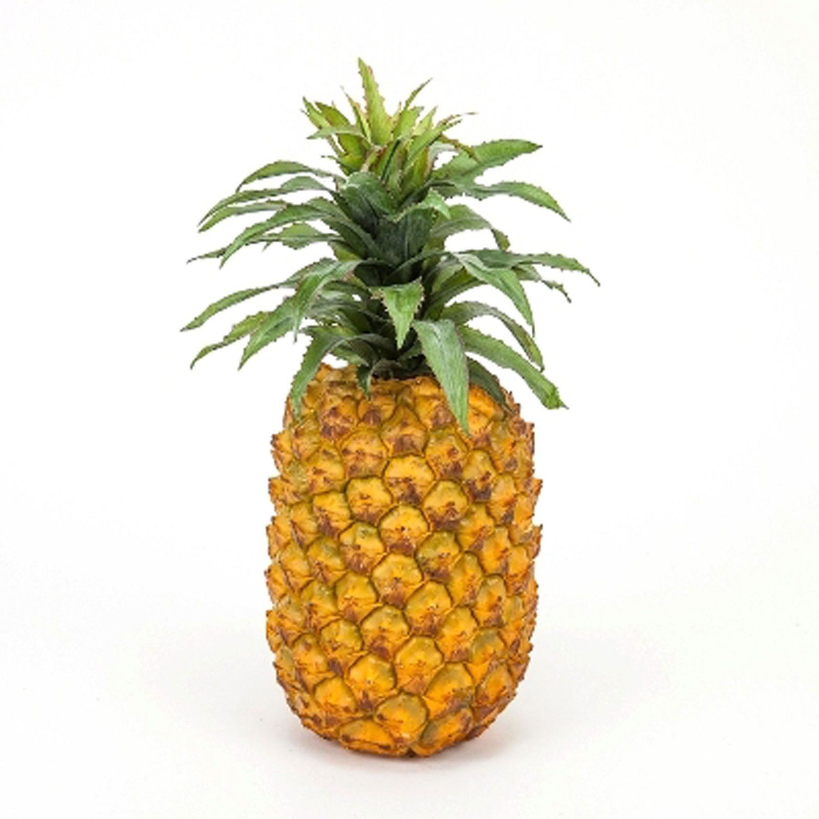 Decorative Fruit and Vegetables 36018: Artificial Large Pineapple Decor Fake Fruit Realistic Life Size Pineapple 11 -> BUY IT NOW ONLY: $39.95 on eBay!