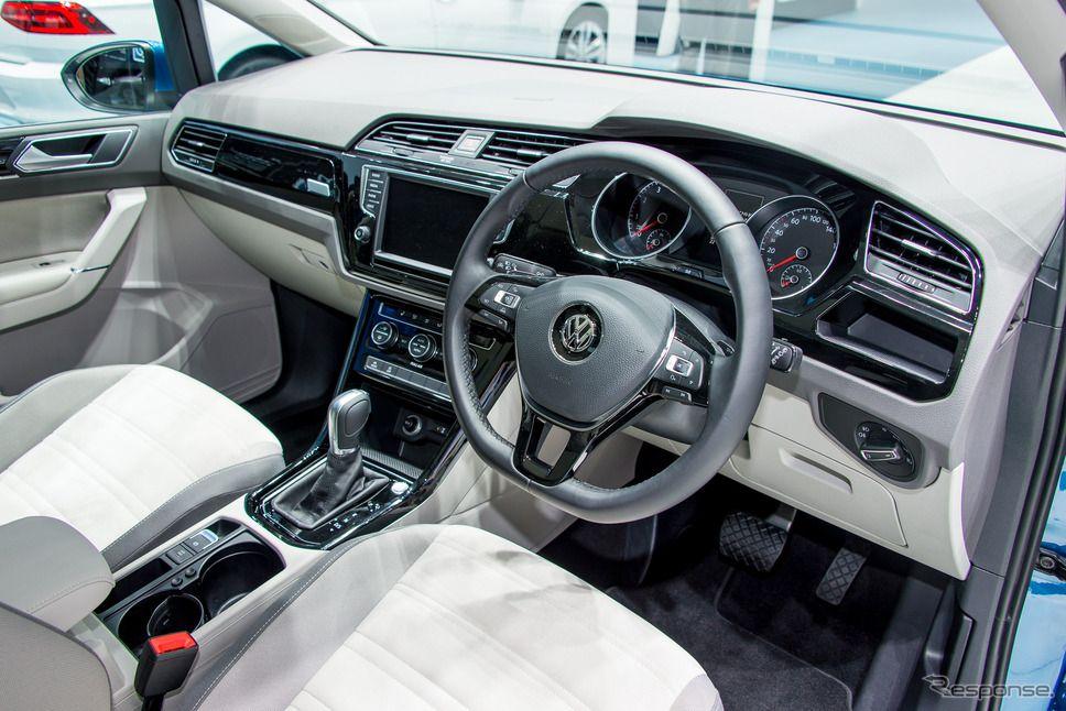 VW ゴルフ トゥーラン(東京モーターショー15)