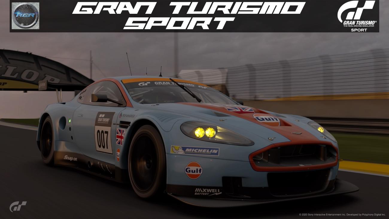 Gran Turismo Sport Replay Aston Martin Dbr9 Gt1 Le Mans