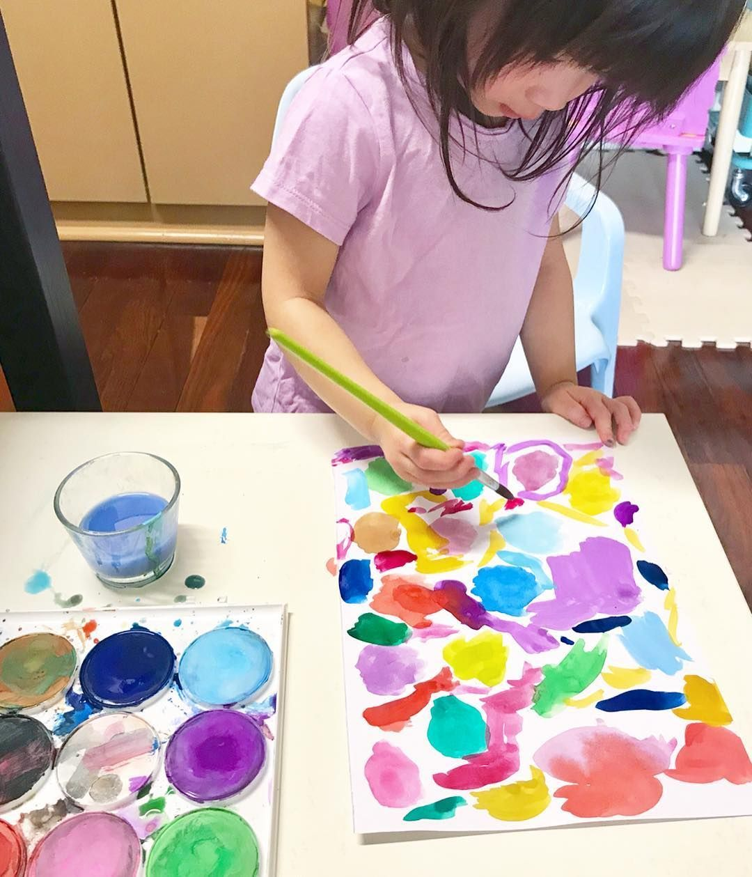 Exploring And Mixing Colors Is So Important For Children To Connect To The Colors In Their Environment Art Room Play Maker Art Education