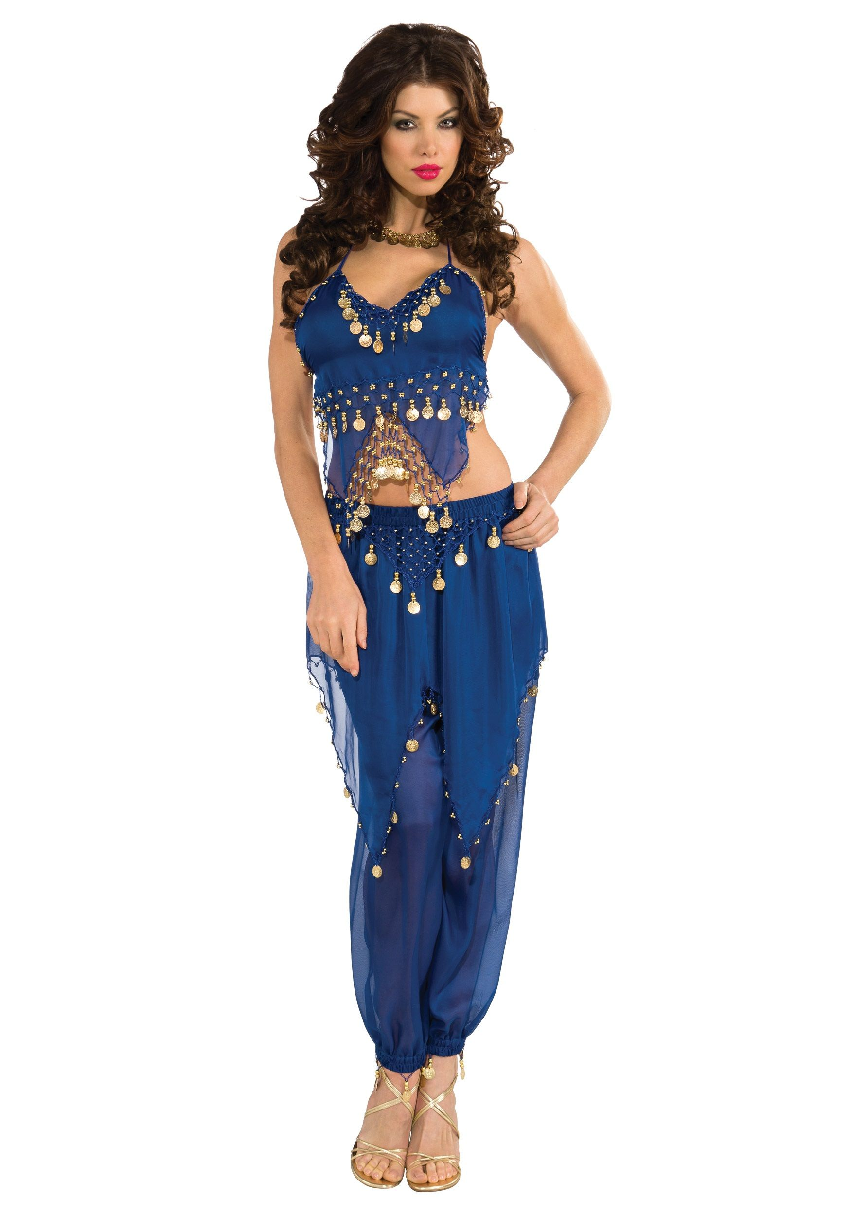 Blue Belly Dancer Costume | Belly dancer costumes, Belly dancers ...