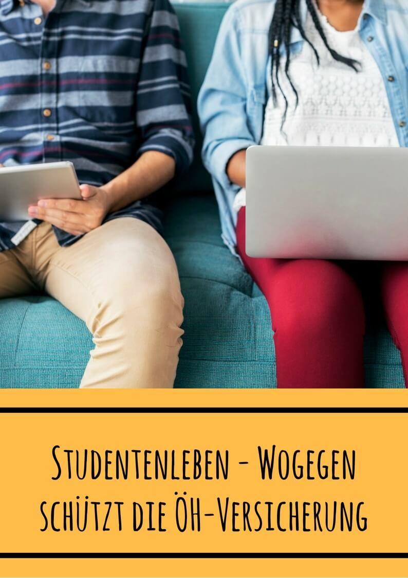 Studentenleben: ÖH-Versicherung schützt nur innerhalb des Campus. Viele Studenten arbeiten und lernen aber die meiste Zeit woanders. Wir klären auf und verraten dir, welche Versicherungen für Studenten sonst noch relevant sind.