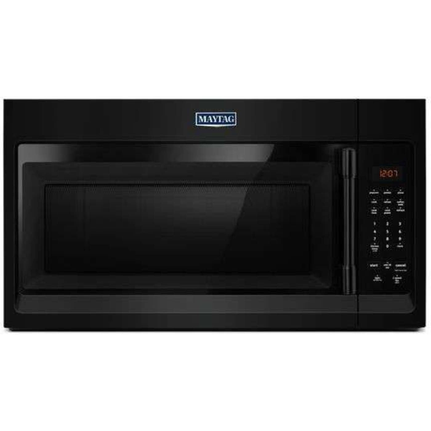 Mmv1174fb By Maytag Over The Range Microwaves Goedekers Com Black Microwave Microwave Hood Microwave
