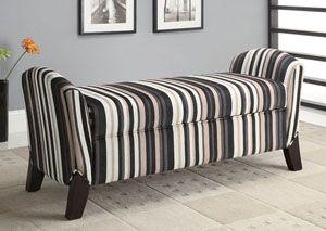 Multi Color & Cappuccino Bench