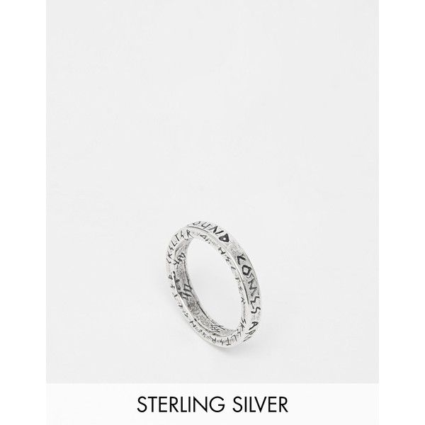 Unif Helter Skelter White Bronze Spacer Thick Ring (€69) ❤ liked on Polyvore featuring jewelry, rings, silver, bronze jewelry, chunky rings, chunky jewelry, white bronze jewelry and bronze ring