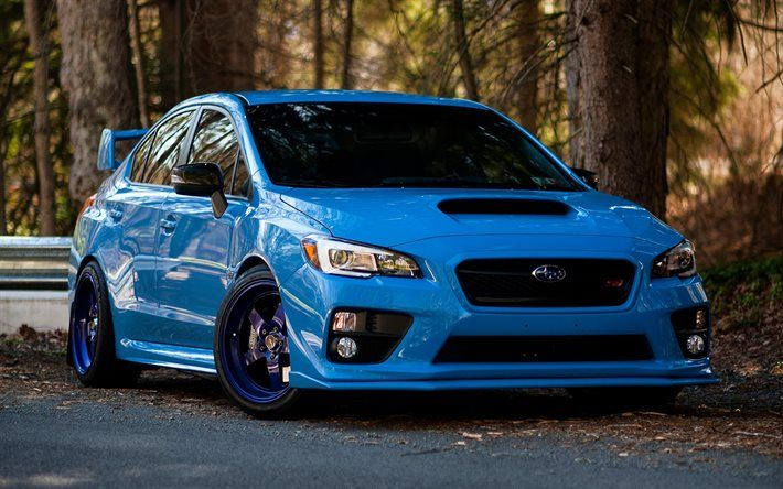 subaru wrx sti blue subaru impreza blue tuning subaru. Black Bedroom Furniture Sets. Home Design Ideas