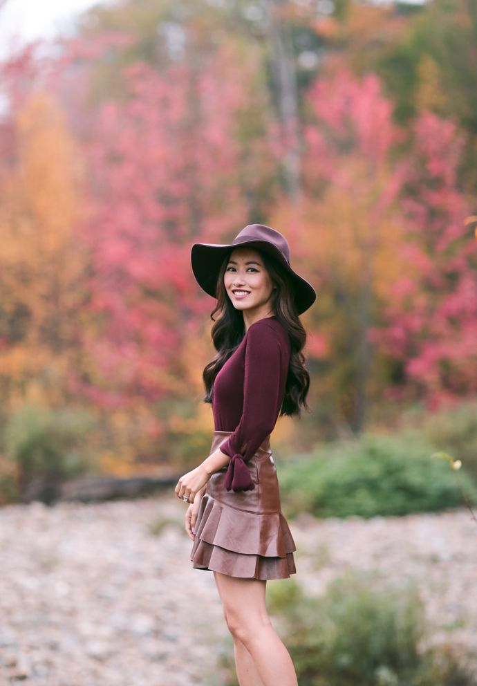 Cute Casual Fall Outfit with Skirt – Latest Street Fashion ...   Cute Fall Blog