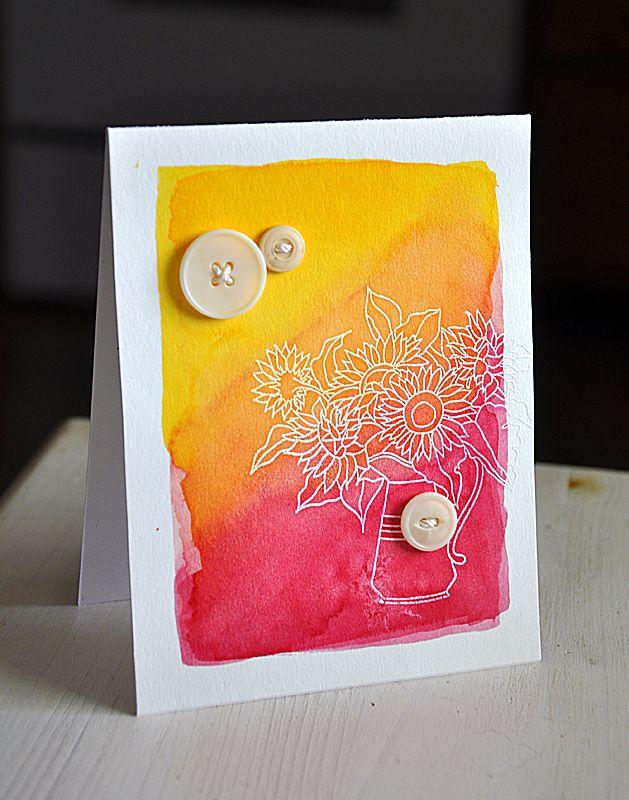 Simply Stamped: Watercolor Wonder