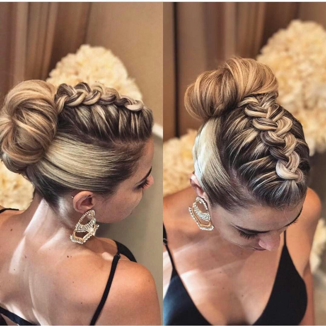 Prom Braided Updo Hairstyle Braided Hairstyles Updo Braided Hairstyles Hair Styles