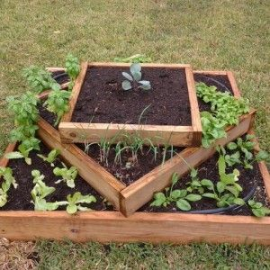 DIY Vertical Pyramid Tower Planters And Raised Garden Beds