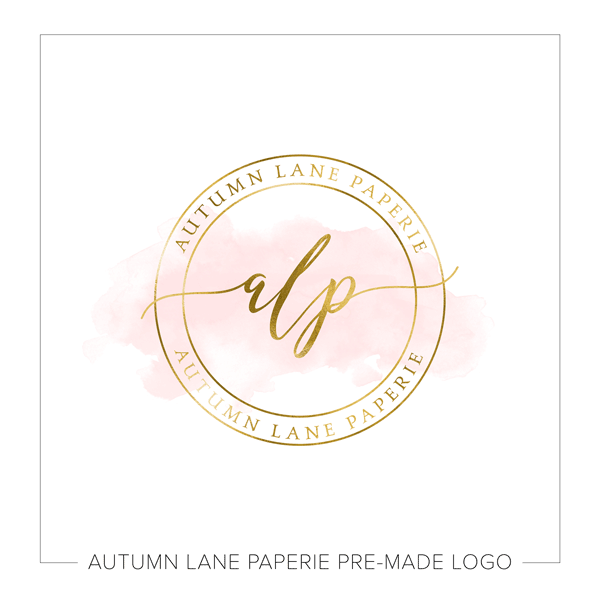 A Premade Logo Is A Carefully Thoughtfully Designed Logo Perfect For The Business Owner On A Budget We Circle Logo Design Logo Design Feminine Circle Logos