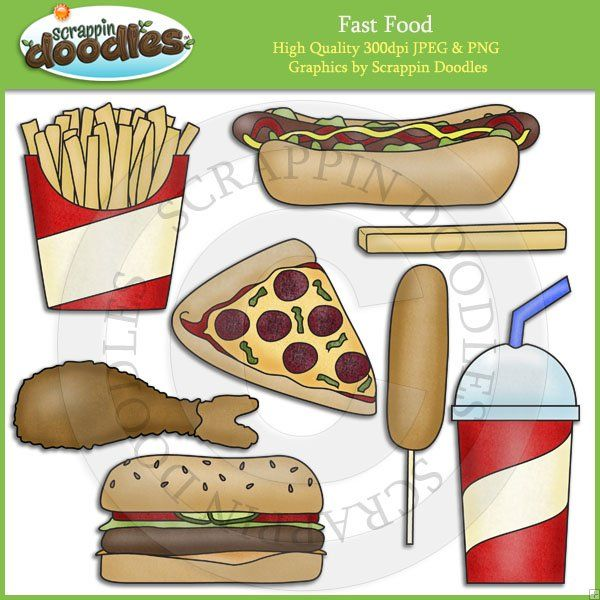Fast food clip art download scrappin doodles pinterest clip fast food clip art download diy recipe bookrecipe forumfinder Gallery