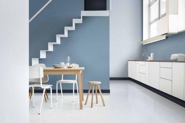 Dulux Colour Futures 17 COTY - Kitchen Dining - Denim Drift, Cobalt Night, Borrowed Blue