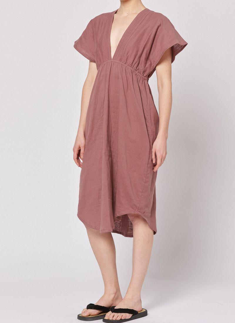 Summer Dress - Bordeaux
