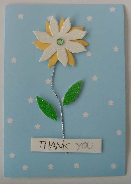 Pinterest Greeting Cards Homemade Handmade Thank You Card Designs Greeting Card Thank Greeting Cards Handmade Handmade Greetings Thank You Card Design