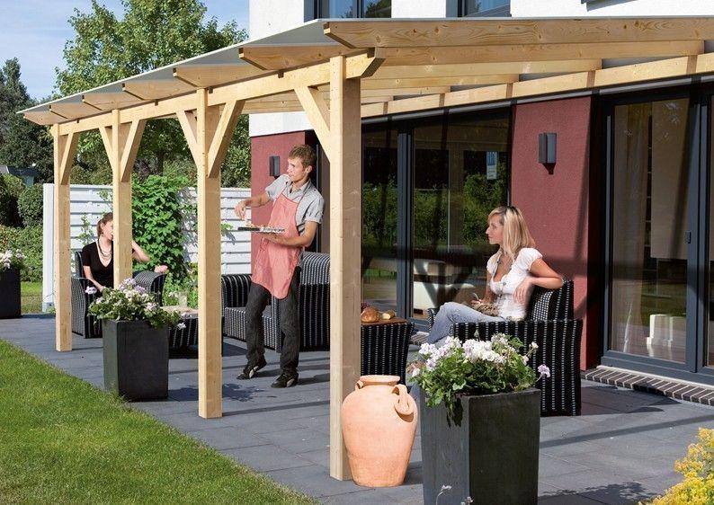 Karibu Holz Terrassenüberdachung Modell 2 Classic Grösse
