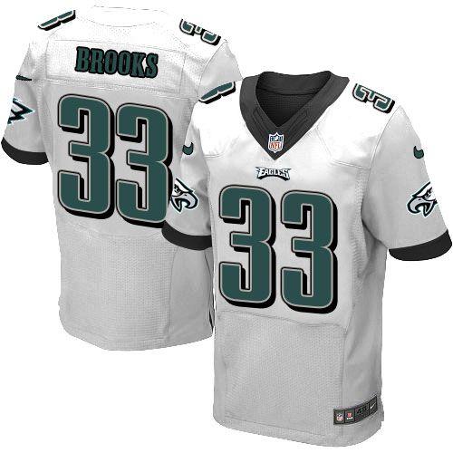 $24.99 Men's Nike Philadelphia Eagles #33 Ron Brooks Elite White ...