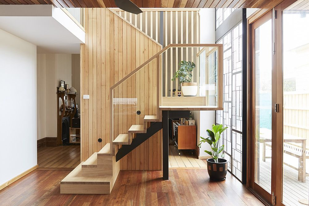 Best Stairs Victorian Ash Timber Feature Staircase 400 x 300
