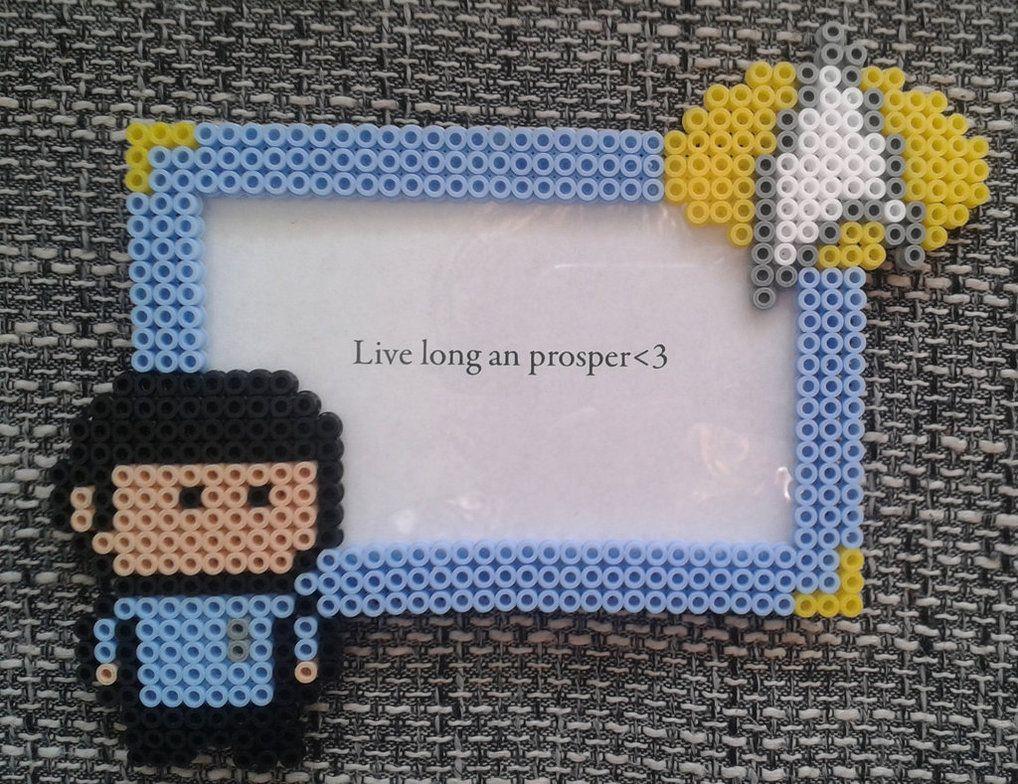 http://jibi-jibi.deviantart.com/art/Spock-Frame-Hama-Beads-524199453 ...