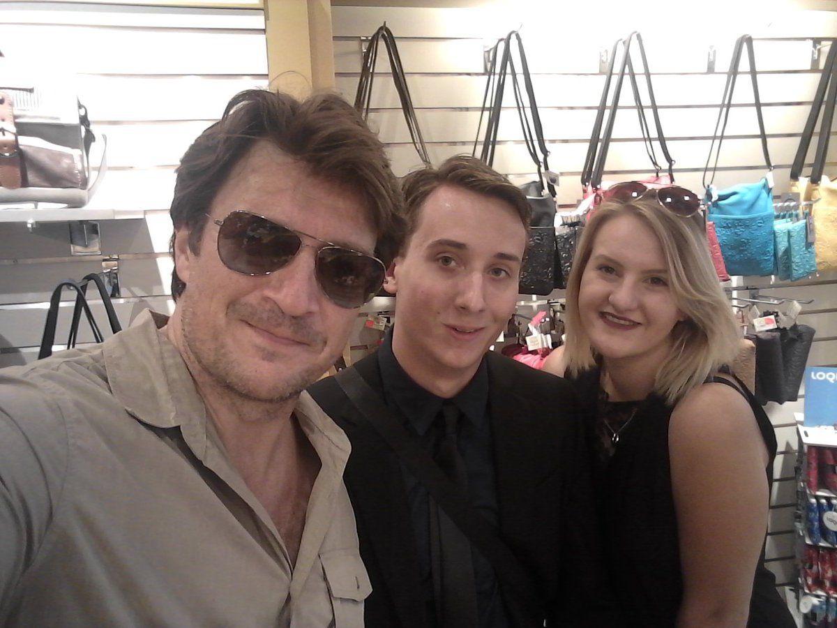 Ryan Masten @RyanUssbatman47  7/29/17   We met Nathan Fillion