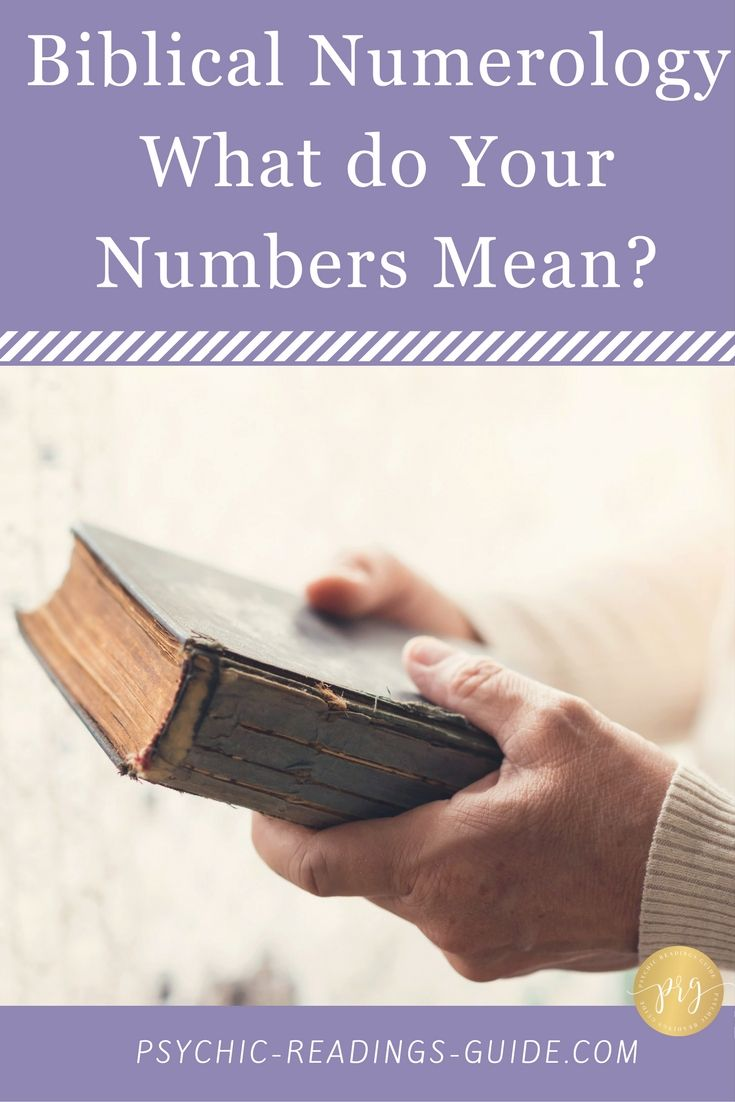 Biblical Numerology What Do The Numbers Mean Numerology